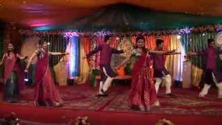 Isbahna's Holud Dance Performance March 2k15 - Radha on the Dance Floor
