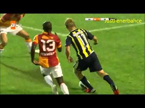Dirk Kuyt (Fenerbahce) vs Galatasaray - Süper Kupa - 2012/2013 - HD