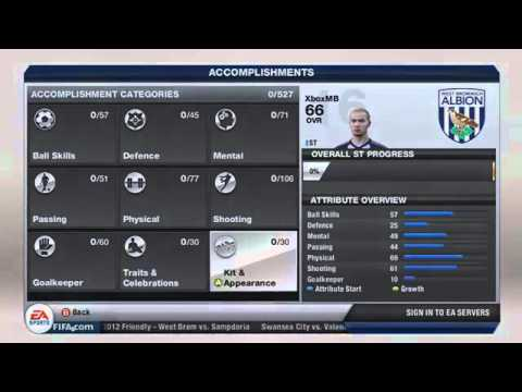 How to Mod FIFA 13 Career Virtual Pro! Max all stats!