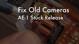 Fix Old Cameras: AE-1 Release Magnet