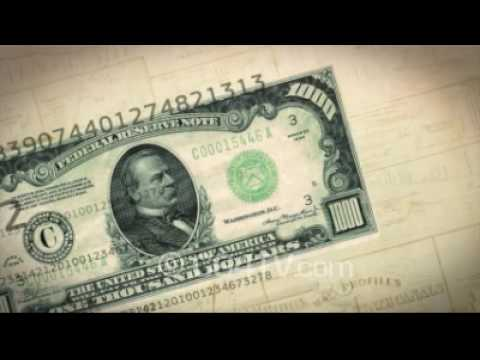 Money Animation - Dollars Video