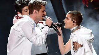 """The Chainsmokers & Halsey Flawlessly Perform """"Closer"""" At The 2016 AMAs"""