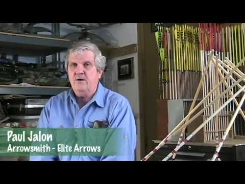 Traditional Arrow Making at Elite Arrows