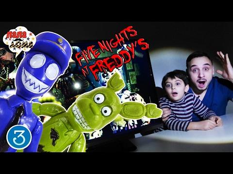 Папа Роб и Ярик играют в FIVE NIGHTS AT FREDDY'S 3!