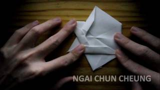 Origami Star Of David (tutorial)