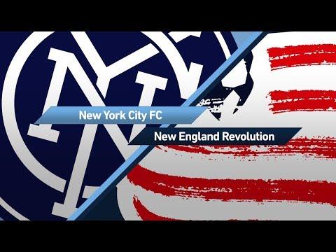Highlights New York City Fc Vs New England Revolution August