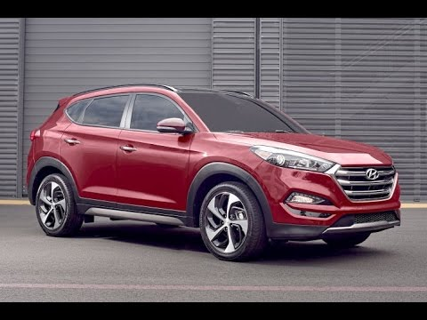 2016 Hyundai Tucson Start Up and Review 1.6 L Turbo 4-Cylinder