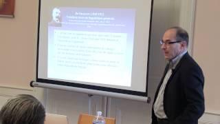 Séminaire Ferdinand de Saussure - Intervention de Philippe Vernier