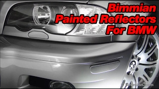 Install Video for Bimmian.com painted Reflectors: E92 and similar