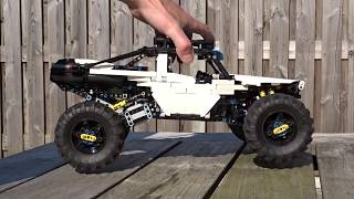 [MOC] LEGO Technic - 4WD RC Buggy - Suspension