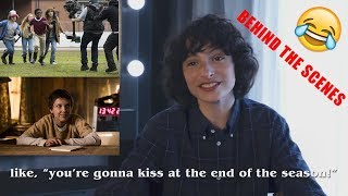 Stranger Things Season 2 Behind The Scenes Funny Moments