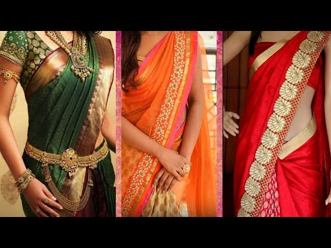 3 Different Ways of Wearing Saree to Look Slim with Perfect Thin Pleats | Tips to Drape Saree Pallu thumbnail
