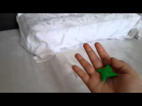 Paper gun that shoot ninja star