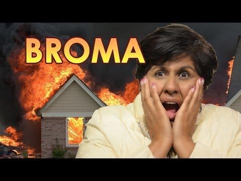 BROMA: SE QUEMA LA CASA!! LOS POLINESIOS | VIDEOS DE RISA 2014