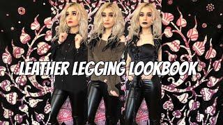 Leather Legging Lookbook | Sadie Solstice