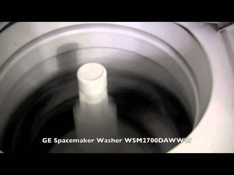 washing machine squeaks during spin cycle