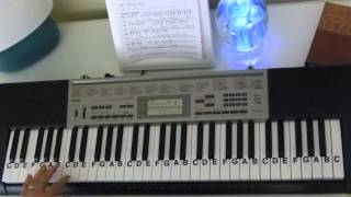How to Play ~ He Paid A Debt He Did Not Owe ~ Southern Gospel Song ~ LetterNotePlayer ©
