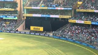 View from sachin tendulkar stand wankhede