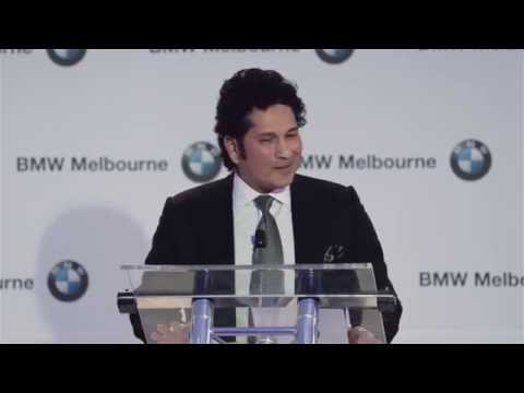 BMW Melbourne Presents Sachin Tendulkar Full Interview HD