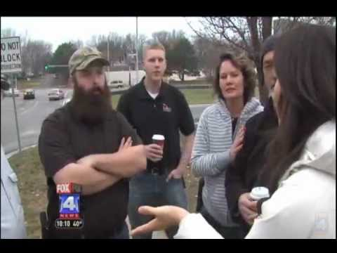 Missouri Open Carry Group on Fox 4 News in Overland Park, Kansas