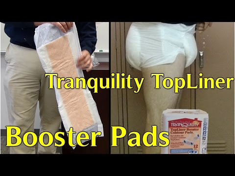 Tranquility Topliner Booster  Adult diaper pads