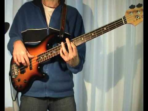 Queen - Crazy Little Thing Called Love - Bass Cover video