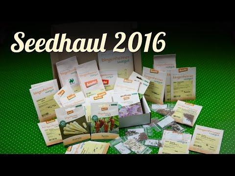Seed Haul 2016   Gemüseanbau   Aussaat   Biosaatgut