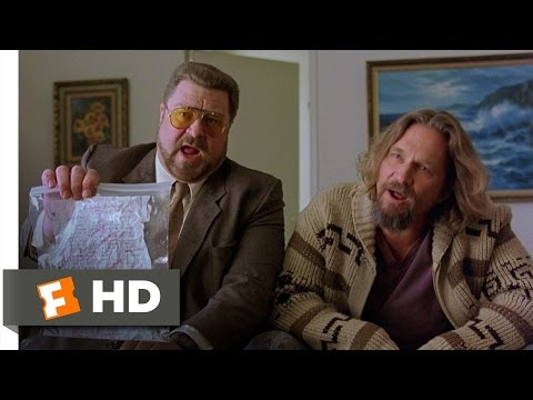 The Big Lebowski - Is This Your Homework Larry? Scene (9/12) | Movieclips