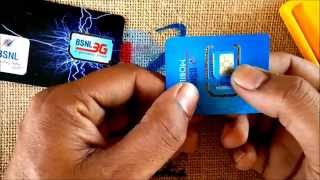 BSNL Repluggable SIM- use it as Normal or Micro or Micro to Normal SIM