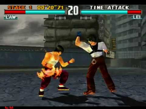 Tekken 3-Top 20 Moves
