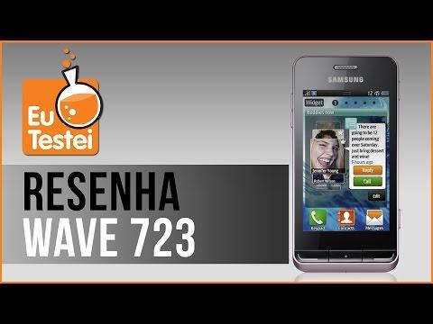 Wave 723 GT-S7230B Samsung Smartphone - Vídeo Resenha EuTestei Brasil