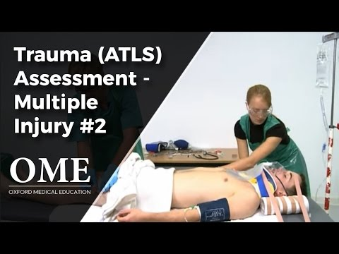 Initial Assessment of a Trauma Patient - Multi-System Injury (Part 2).wmv