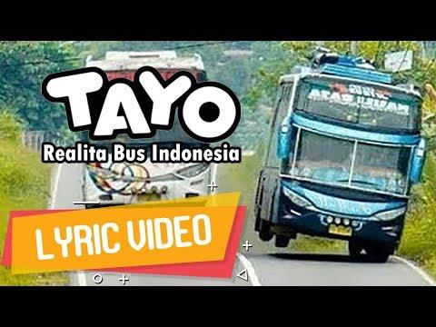 TAYO VERSI HIP HOP | ECKO SHOW - Realita Bus Indonesia [ Lyric Video ]
