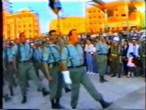 La Legion en Semana Santa de Malaga.Año 1995
