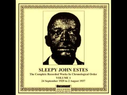 'Someday Baby Blues' SLEEPY JOHN ESTES&HAMMIE NIXON (1935) Blues Guitar Legend