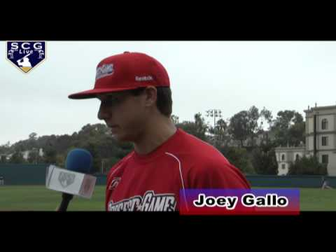 2011 PG All American Classic Joey Gallo Interview (INF/RHP)