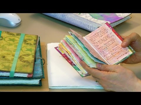 Pick The Perfect Art Journal Choices Choices Choices - HowToGetCreative.com with Barb Owen