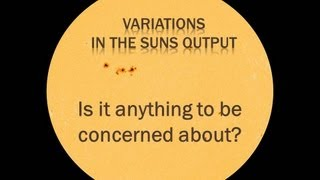 Variations in the Sun