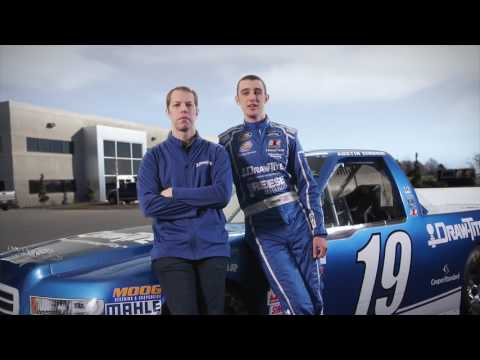 Austin Cindric Races Atlanta Motor Speedway in the #19 Draw•Tite® Ford
