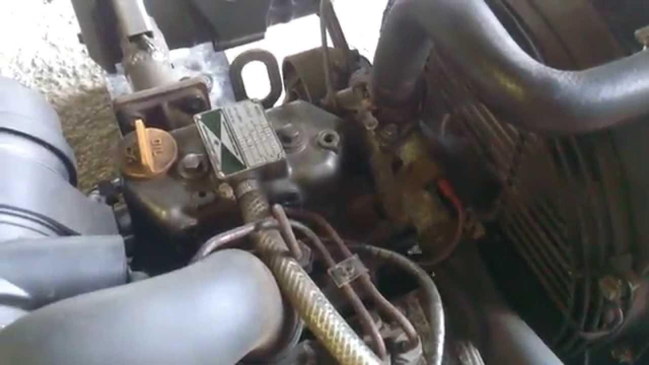 Yanmar 2tne68 Hg 2 Cylinder Diesel Engine Youtube