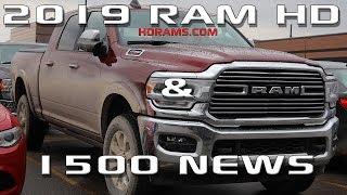 2019 Ram HD and 1500 news!