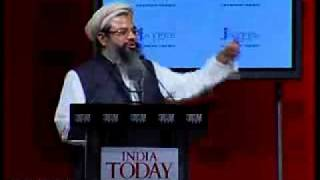 Maulana Mahmood Madani speech at India Today Conclave 2009