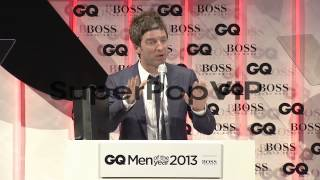 SPEECH - Noel Gallagher on receiving an award from GQ at ...