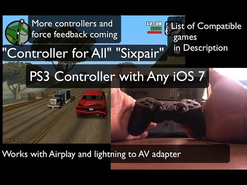 PS3 Controller for All 1.0 setup For any iOS 7 Step by Step Troubleshoot