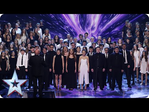 One Voice: 12-Member Acapella Group Stuns With Their Powerful Vocals - America's Got Talent 2016