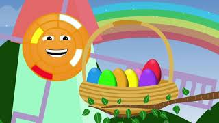 Animated Surprise Easter Eggs for Learning Colors Part IV