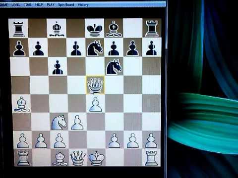 MORTIMEROV šahovski trik u Španskom otvaranju # 92 sah i mat