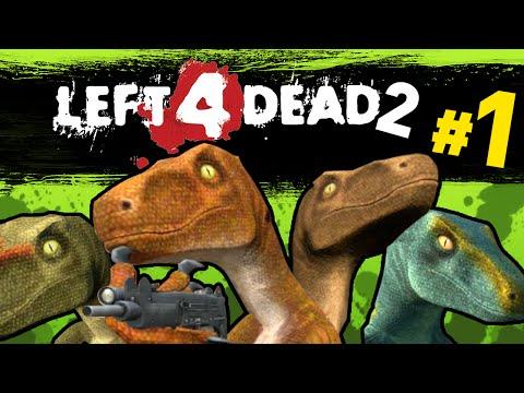 Left 4 Dead 2 - Dinosaur Raptor Mod| We Suck | Ep1