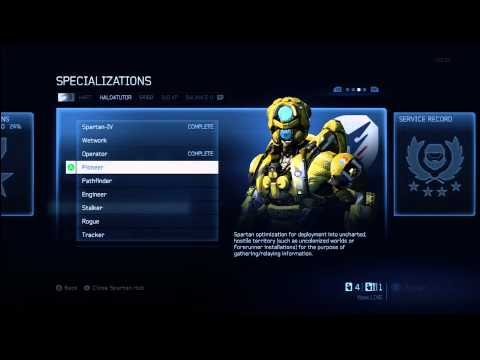 Halo 4 Tips & Tricks | Pioneer Specialization Details | Unlock Armor & Fast Track Tactical Package