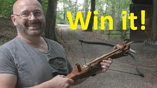 """Breathtaking """"Viking"""" Crossbow Made From Cheap Plank"""